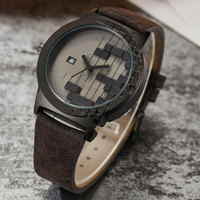 Creative Three Dimensions Digital Design Style Luxury Watch Mens Date Sport Women Cool Minimalist Quartz Wristwathes