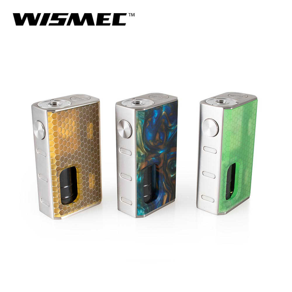 Original Wismec LUXOTIC BF Box Mod 100W with 7.5ml E-liquid Bottle fit Tobhino BF RDA Tank electronic cigaretteVS x-priv/species