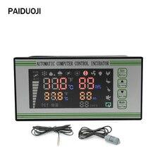Contrôleur d'incubateur Thermostat entièrement automatique et multifonction système de contrôle d'incubateur d'oeufs Xm-18S