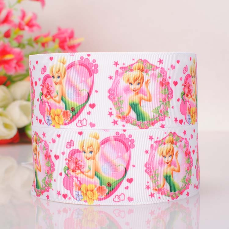 "GROSGRAIN BELLE PRINCESS AND BEAST 1/"" INCH RIBBON FOR HAIR BOWS DIY CRAFTS"
