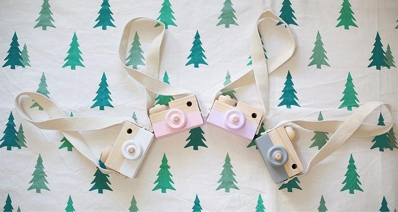 Piękne śliczne drewniane zabawki dla dzieci Wystrój pokoju - Wystrój domu - Zdjęcie 6