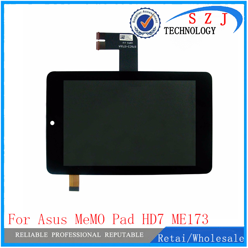 New 7'' inch case for Asus MeMO Pad HD7 ME173 ME173X K00B (LCD FOR LG Edition) LCD Display Panel With Touch Screen Digitizer new 10 1 inch case for asus memo pad 10 me102 me102a v3 0 mcf 101 0990 01 fpc v3 0 touch panel screen digitizer free shipping