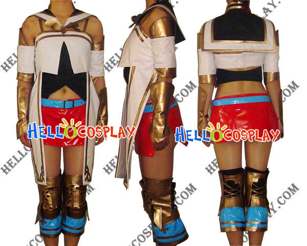 Final Fantasy Ashe Cosplay Costume H008
