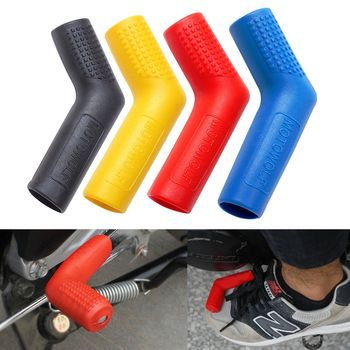 Uniwersalna przekładnia motocyklowa dźwignia Notch Set Refires futerał ochronny dźwignia zmiany biegów rękaw akcesoria do modyfikacji czarny czerwony niebieski tanie i dobre opinie Buty Ochrony Unisex natural plastic