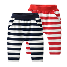 Auro Mesa Baby Infant Kids Boys Girls Striped Harem Pants Trousers 6M-3Years
