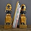 Pharaonen Tutankhamun Statue & Skulptur Harz Kunst & Handwerk Ägyptischen Stil Wohnzimmer Ornamente R269-in Statuen & Skulpturen aus Heim und Garten bei