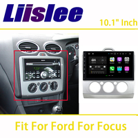 Liislee 2din For Ford Focus 2 2005~2011 Car Navigation GPS Android Audio Video Touch Screen Stereo Multimedia Player Bluetooth
