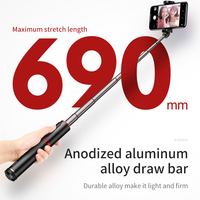 Bluetooth Selfie Stick Portable Handheld Smart Phone Holder Camera Tripod with Wireless Remote control For iPhone Samsung Huawei