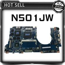 For ASUS N501JW UX501J laptop motherboard UX50J UX50JW N501JW N501J mainboard rev2.1 i7 cpu onboard with graphics card Tested