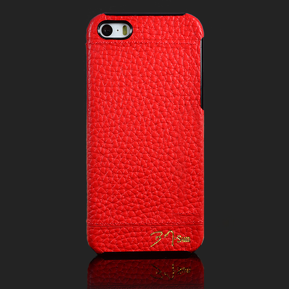 For Apple <font><b>iPhone</b></font> 5 <font><b>5S</b></font> SE Phone <font><b>case</b></font> Back cover <font><b>Genuine</b></font> <font><b>leather</b></font> S-CH Cover New Arrival 1 piece Free Shipping image