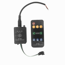 Mini SP106E 9keys LED Music Controller DC5V-12V WS2811 /WS2812B/6812 /1903/6803 Magic LED tape digital colorful music controller цены онлайн