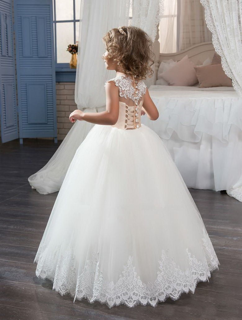 Formal Flower Girl Dress Kids Pageant Bridesmaid Wedding Prom Party Ball Gown 5 6 8 10 12 14 16 year girl flower embroidered dress kids pageant party wedding bridesmaid ball gown prom princess formal dress