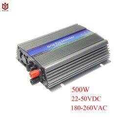 MAYLAR @ 500 W 300 W Lazo de la red Solar de onda sinusoidal pura inversor de alimentación de 22-50VDC... 90-260VAC... 50Hz/60Hz 60 celular y 70 paneles de célula