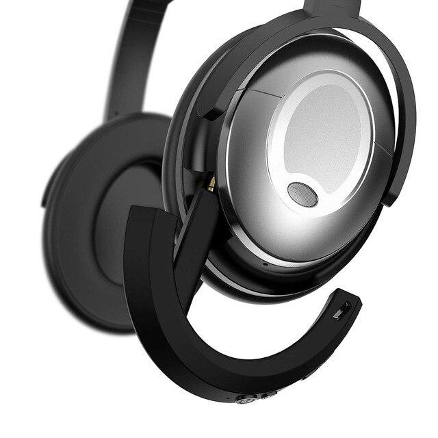 Qc15 adaptador bluetooth receptor sem fio para bose quietcomfort qc 15 fones de ouvido suporte ios e android