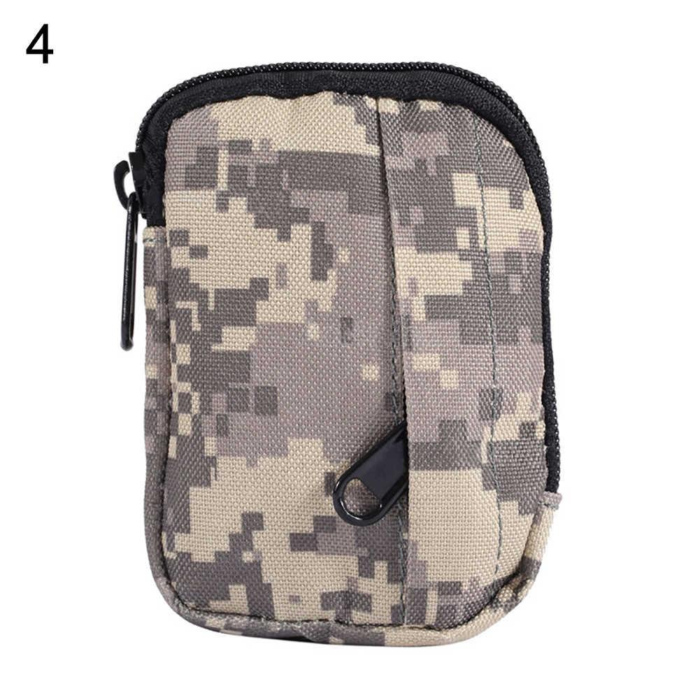 屋外軍モール迷彩ウエストバッグ陸軍電話ポケットファニーパックポーチウエストバッグ防水ナイロン電話のウエストパック