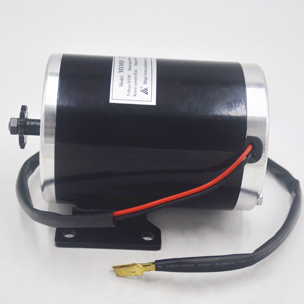 1000W 48V/36V UNITEMOTOR High Speed Brush DC Motor Electric Bicycle Motor escooter motor ebike Brushed Gear Motor MY1020