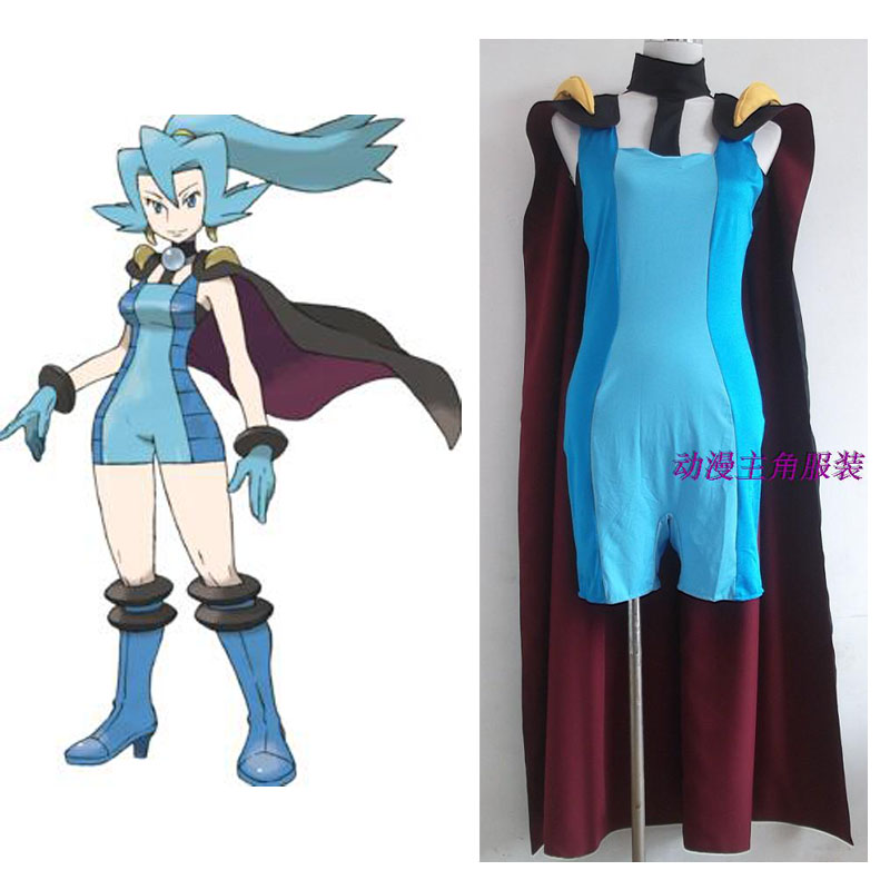 2016 Hot Clair Cosplay Costume From Pocket Monster
