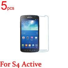 c9af30b57fc 5 unids claro/mate/Nano LCD protector de pantalla cubierta de la película  para Samsung Galaxy S4 S5 S6 S7 activo i9295 G870D I53.