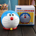 Anime Doraemon Piggy Bank Money Box Saving Pot com Música PVC Action Figure Toy 12 cm KT1380