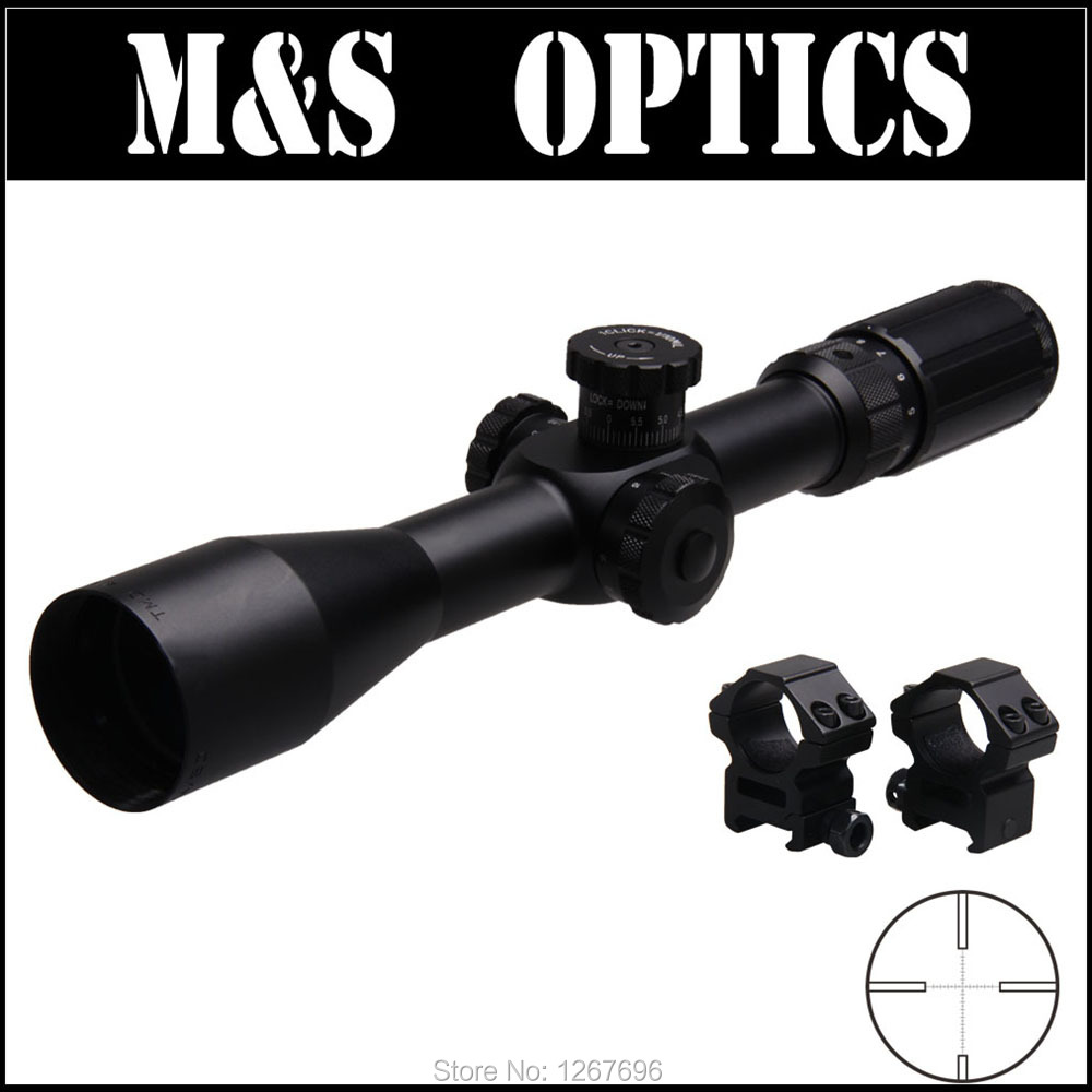 4-14X44SF FFP (Lock)  First Focus Plane Tactical Huting Gun Rifle Scope Sight Optical With Riflescopes Ring Mounts For Hunter marcool 4 16x44 side focus front focal plane optical sights rifle scope hunting riflescopes for tactical gun scopes for adults