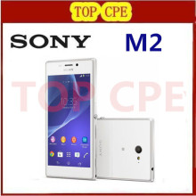 Unlocked Original  Xperia m2 D2303 Mobile Phone GPS WIFI 8MP camera Quad Core one year warranty free shipping in stock