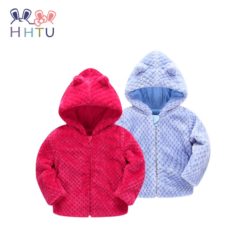 HHTU New Arrival Children Jacket Outerwear Boy Girl Spring Autumn Kid Long Sleeve Kid Baby Coat