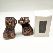 Marvel Movie The Avengers 3 Thanos Infinity Gauntlet Beer Bottle Opener Personalized Creative Metal Keychain Pendant Gift
