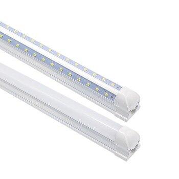 LED Tube T8 Integrated 600mm 2FT 20W V-Shape Led Bulbs Tubes Light 2Feet AC85-265V 96LEDs SMD2835 2000lm 270 Degree CE ROHS