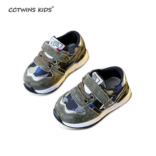 CCTWINS ДЕТИ весна осень мальчик черные кроссовки для малыша девочка марка повседневная натуральная кожа тапки дети зеленый