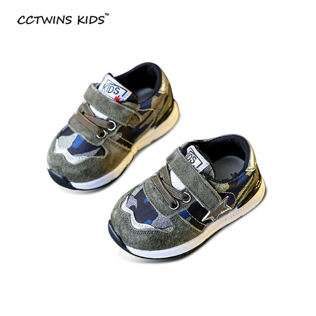 CCTWINS KIDS spring autumn boy black running shoe for toddler baby girl brand casual genuine leather sneaker children green