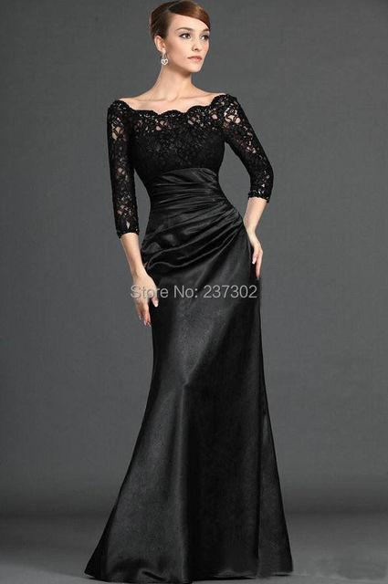 Black Mermaid Wedding Dresses