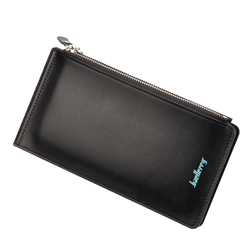 PU Leather Clutch Wallets Multifunction Long Card Holder Double Zipper Hasp Ladies Money Bag Casual Brief Business Wallet casual weaving design card holder handbag hasp wallet for women