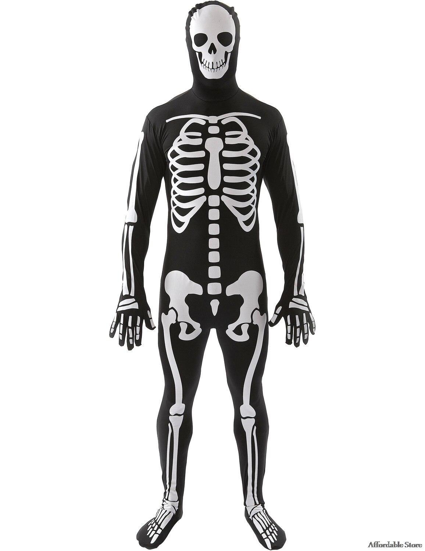 Terror Skeleton Men's Mexican Souls Festival Costume Dresses cosplay
