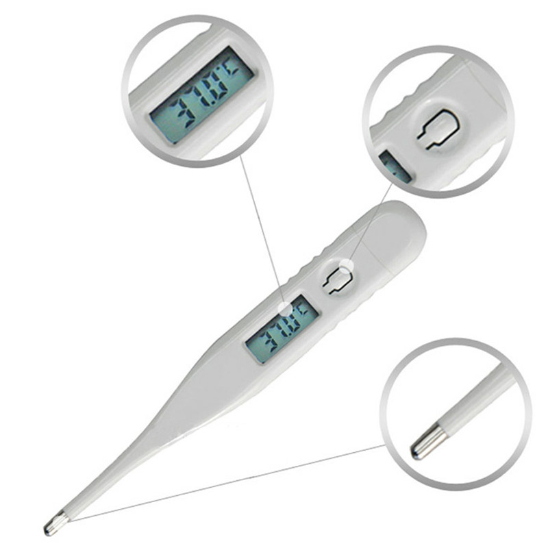 Digital LCD Heating Baby Thermometer Tools High Quality Kids Baby Child Adult Body Temperature Measurement A# dropship
