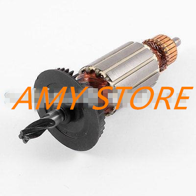 AC220V Electric Impact Drill 4-Teeth Shaft Armature Rotor for Bosch GBH 2-20se ac 220v armature rotor for bosch gbh 2 26 dsr 26 gbh 2 26 dfr gbh2 26e de dre with 6 teeth shaft brand new free shipping