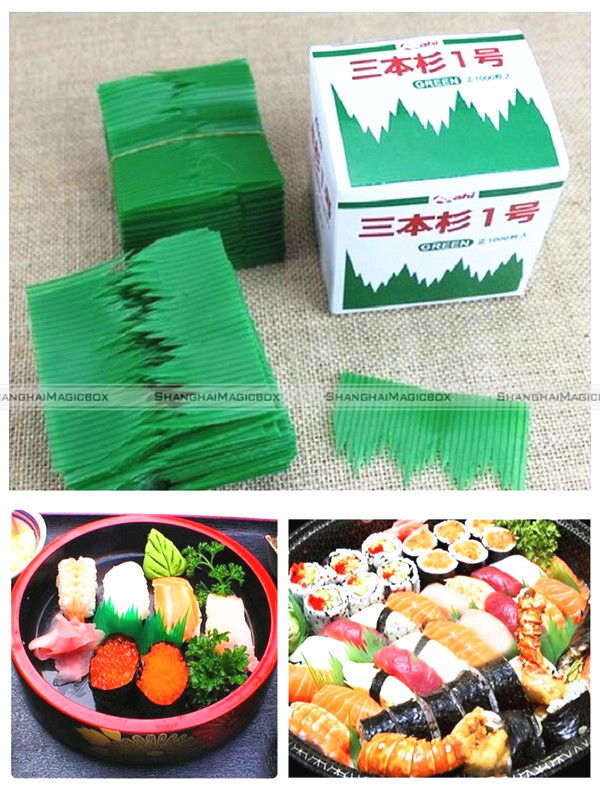 1000pcs Japanese Bento Box Divider Sushi Decoration Grass Baran 40116806