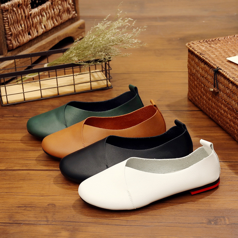 MFU22 Spring and autumn new original casual shoes small white shoes flat round head soft bottom factory direct CA6-1-CA6-21MFU22 Spring and autumn new original casual shoes small white shoes flat round head soft bottom factory direct CA6-1-CA6-21