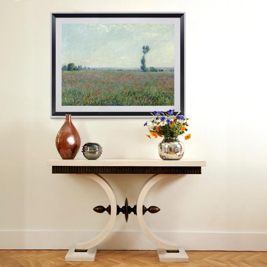 Claude Monet landschaften Mohn bereichen Leinwand Kunst Wandmalerei ...