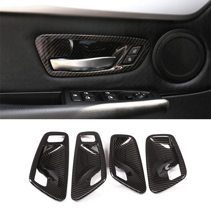 Car Styling Inner Door Bowl Wrists Cover Trim 4pcs For BMW