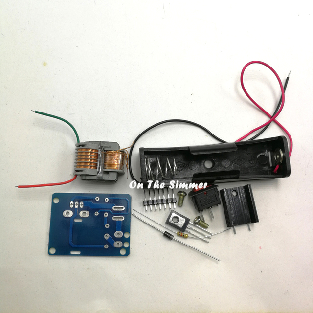 Schema Elettrico Bobina Di Accensione : Generatore di alta tensione per scintille tecnovolt