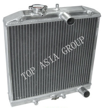 Race aluminium radiator / Racing Radiator EK EG 92-00 42mm 2 - Auto-onderdelen