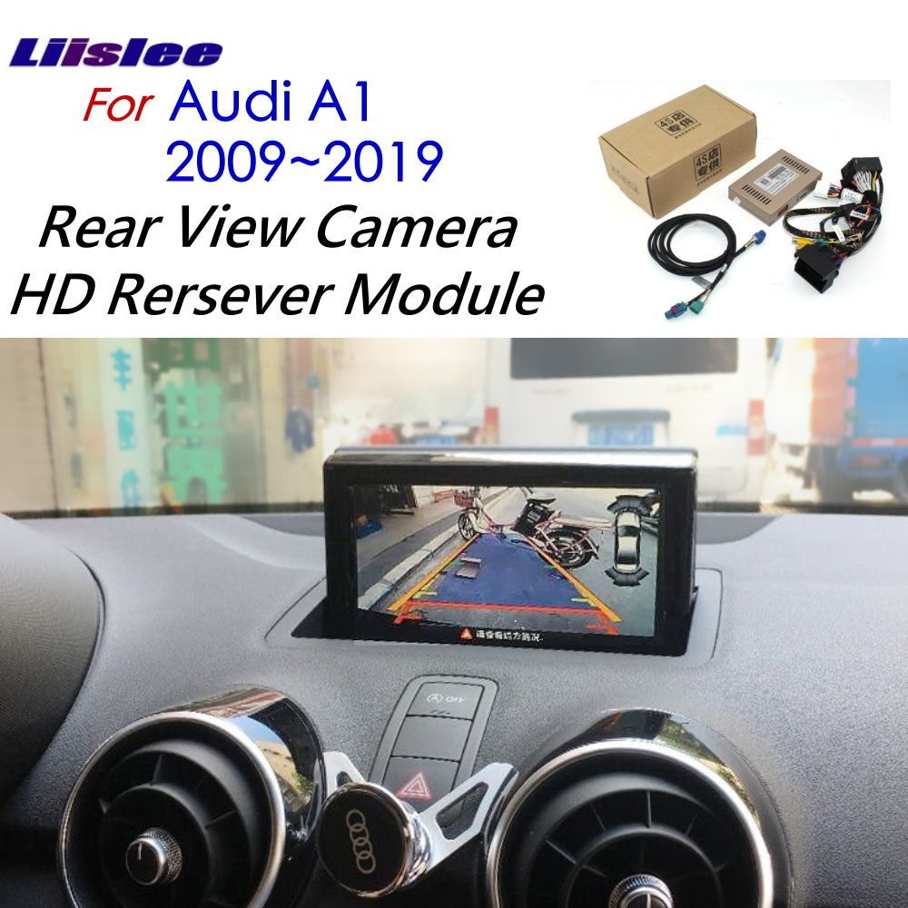 Liislee Camera Original Screen Upgrade Display For Audi A1 2011 2012 2013 2014 2015 2016 2017 2018 2019 Backup Camera Decoder