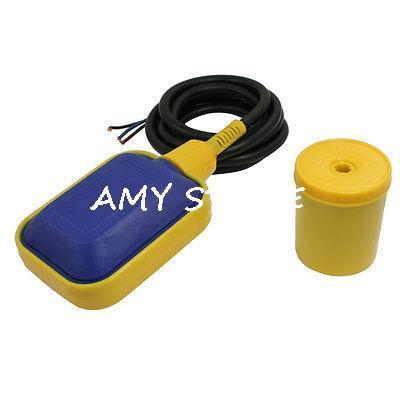 1.9M Black Cable Water Pump Float Switch Fluid Level Controller AC 250V стоимость
