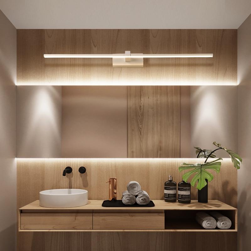 Led Mirror Light Hand Wash Bathroom Desk Simple Modern Nordic Bathroom Dressing Table Makeup Mirror Wall Lamp In Short Supply Ceiling Lights & Fans Ceiling Lights
