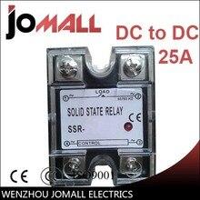 SSR -25DD DC control DC SSR Single phase relay solid state wsfs hot ssr 25dd single phase solid state module relay 25a dc 5 60v