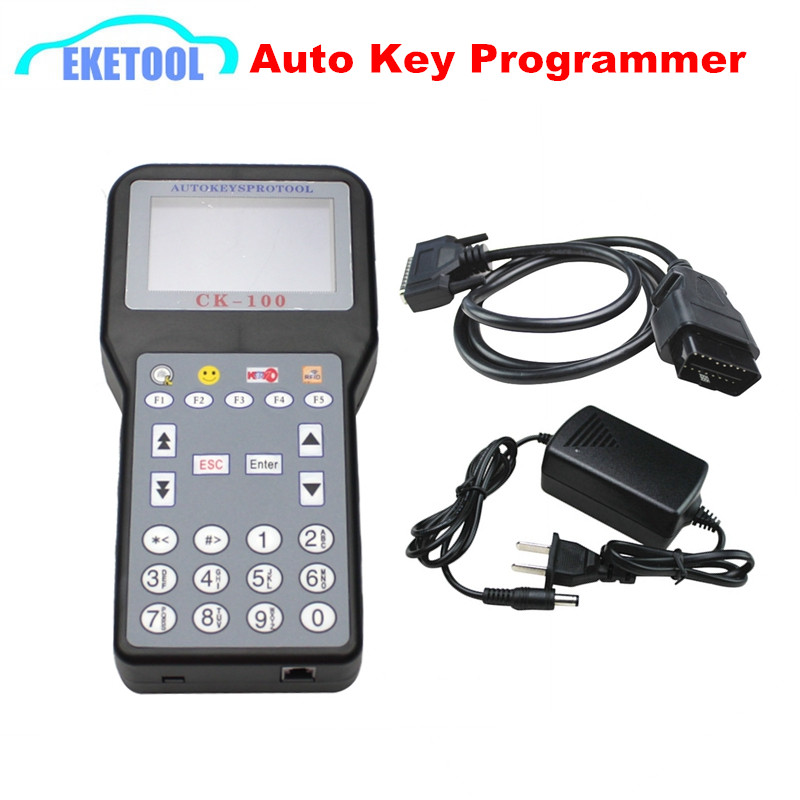 <font><b>CK100</b></font> <font><b>Auto</b></font> <font><b>Key</b></font> <font><b>Programmer</b></font> Immobilizer Transponder Latest V99.99 Works Multi-Cars CK 100 No Tokens 7Language CK-100 Newest of SBB image