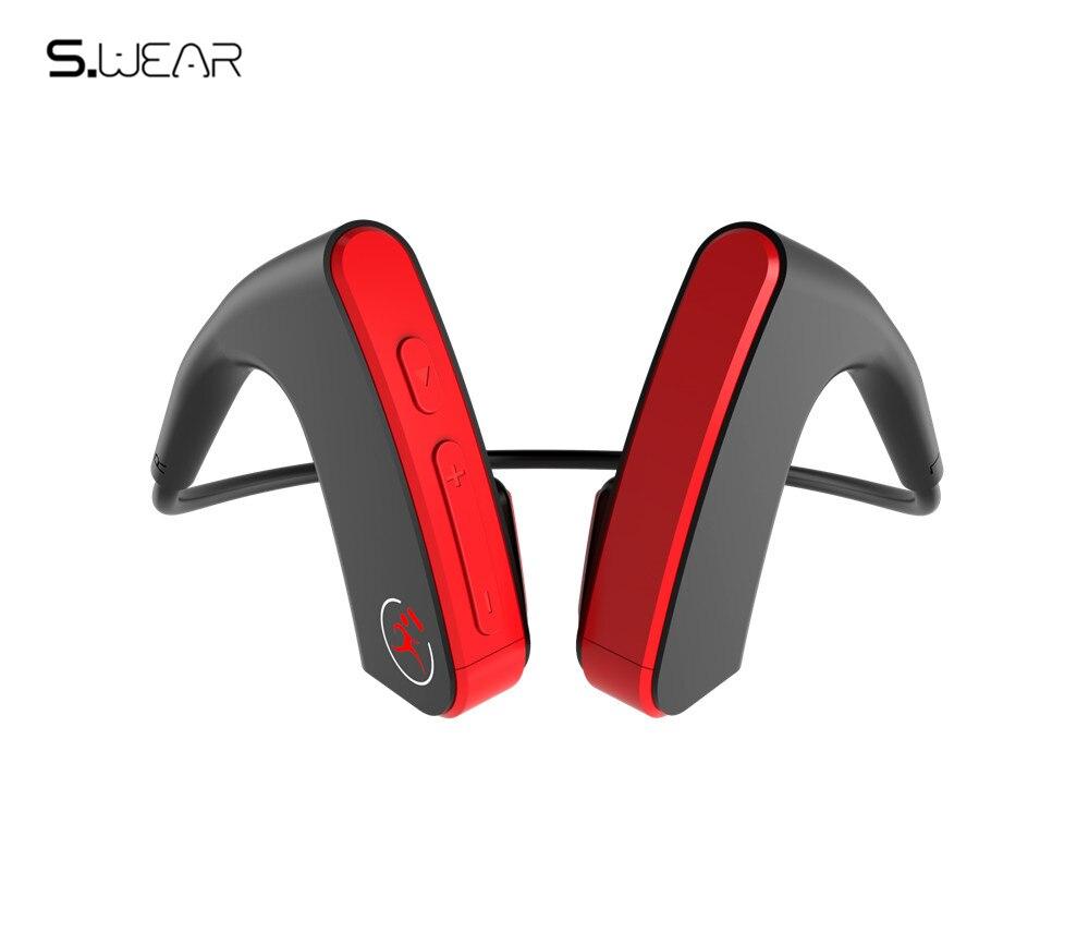 Expédition en 48 heures! Casque Bluetooth E1 casque sans fil à Conduction osseuse Auriculare Sports de plein air écouteurs stéréo 3D avec boîte