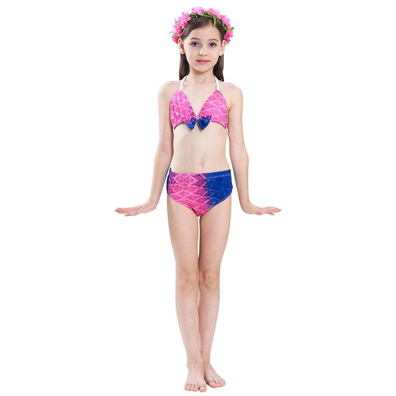 girls mermaid tail swimwear 4-3