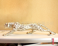 shipping wholesale Factory outlets Million spot leopard home font b accessories b font ornaments resin craft