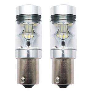 Image 2 - 2шт 100 Вт 1156 BA15S 382 P21W поворот на парковочные огни светофоры с белыми BulbsGeneral Автомобильные фары и задние фонари